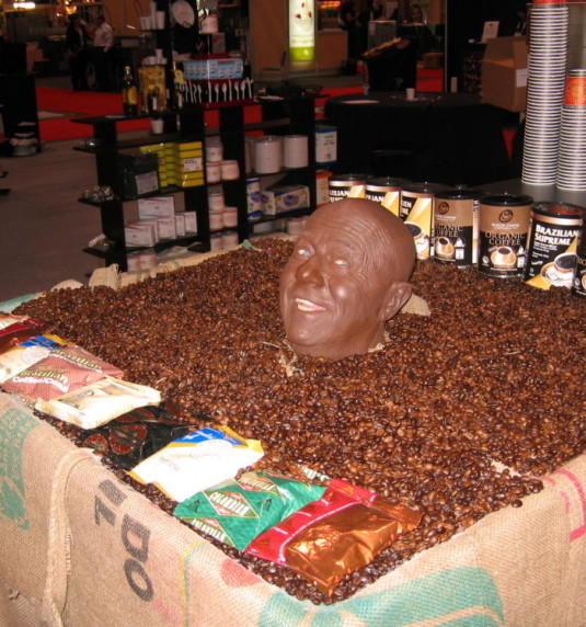 Mr. Coffee Bean Head