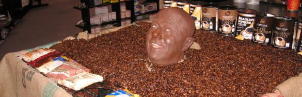 Mr. Coffee Bean Head