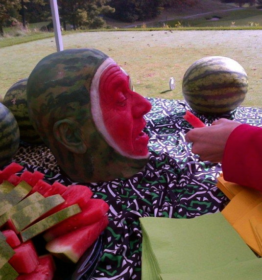 Mr. Melon Head